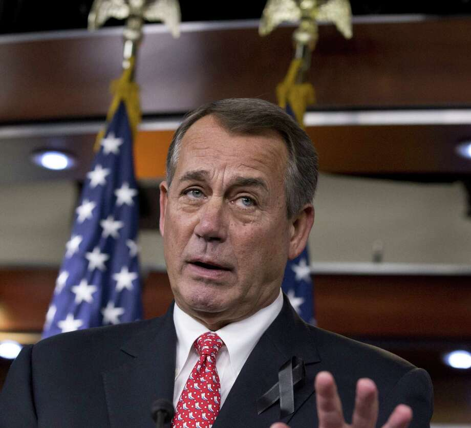 House Speaker John Boehner and his team showed true leadership by passing a bipartisan budget compromise. The deal could have been better, but the measure beats gridlock. Photo: J. Scott Applewhite / Associated Press / AP