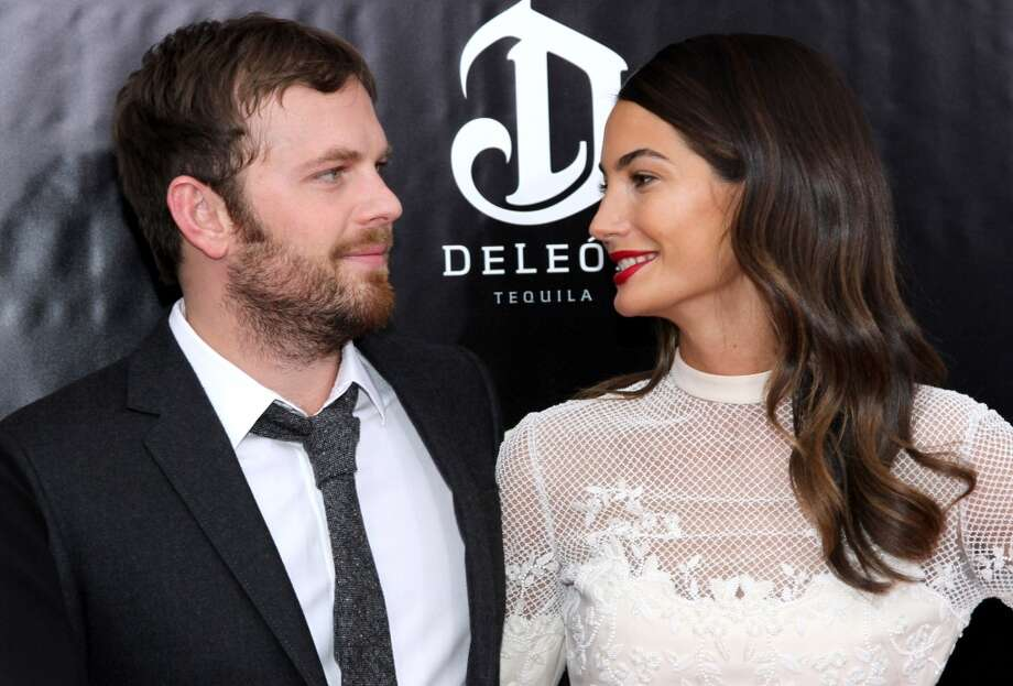 "Caleb Followill and Lily Aldridge attend the ""August: Osage County"" premiere at Ziegfeld Theater on December 12, 2013 in New York City. Photo: Rob Kim, Getty Images For DeLeon Tequila"