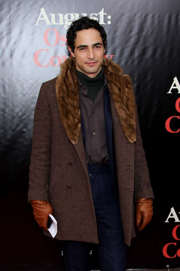 "Designer Zac Posen  attends the ""August: Osage County"" premiere at Ziegfeld Theater on December 12, 2013 in New York City. Photo: Rob Kim, Getty Images For DeLeon Tequila"