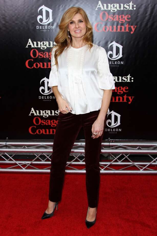 "Connie Britton attends the ""August: Osage County"" premiere at Ziegfeld Theater on December 12, 2013 in New York City. Photo: Rob Kim, Getty Images For DeLeon Tequila"