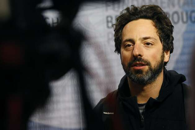 Aug. 28: Google co-founder Sergey Brin, 40, splits from wife Anne Wojcicki and reportedly has an affair with Amanda Rosenberg, the 27-year-old Google Glass marketing manager. Rosenberg's Glassed face and long, ombre-dyed red hair are splashed across online tabloids, reminding us all that some hair fads take time to dye away. Photo: Michael Short, The Chronicle