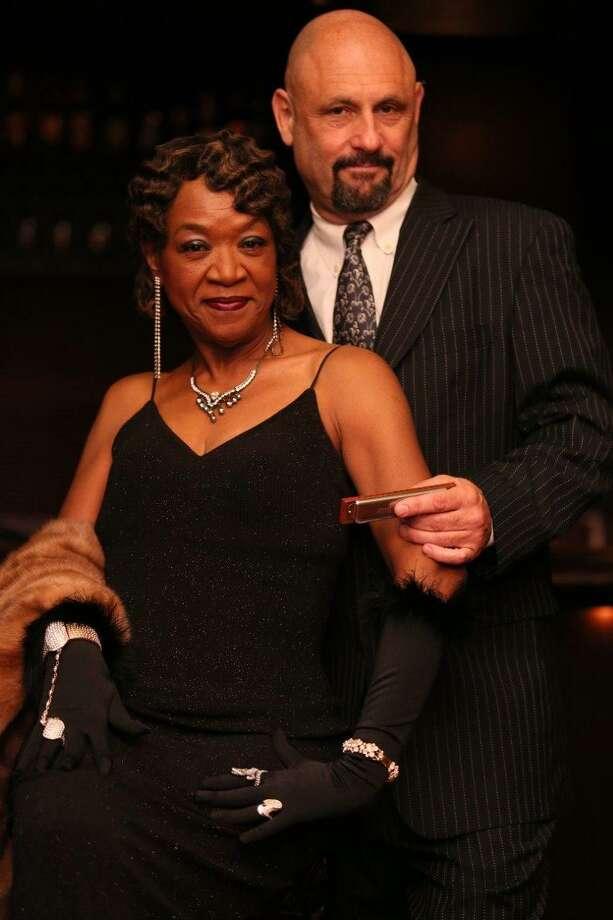 Singer Trudy Lynn and harmonica player Steve Krase Photo: Donovan Allen