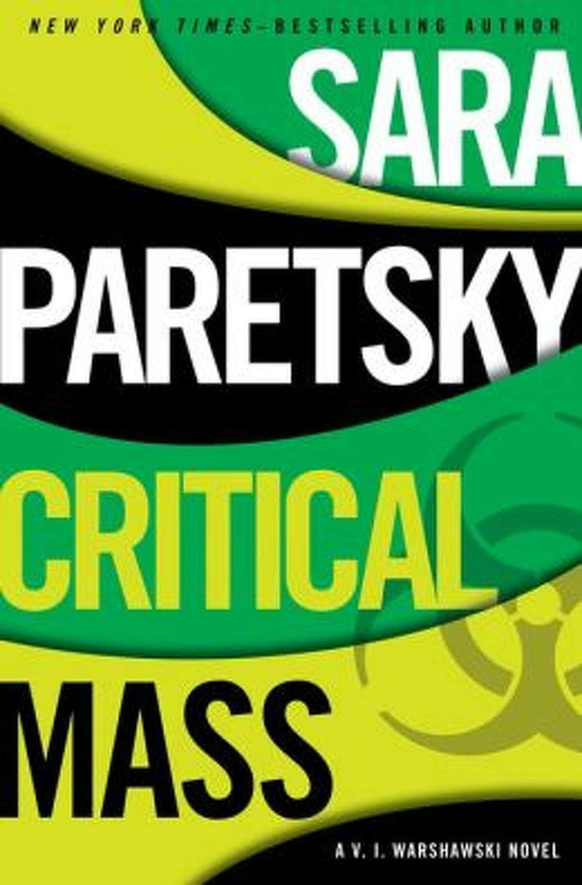 """""""Critical Mass"""" by Sara Paretsky"""