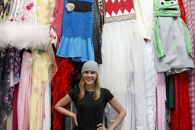 """Oct. 17: San Mateo designer Alexandria Von Bromssen comes in second place on """"Project Runway"""" but is none too pleased with how she feels the show has presented her. """"I never watched the show before I was on it,"""" she admits afterward, """"so I didn't know what I was getting into."""" Photo: Michelle Terris, The Chronicle"""
