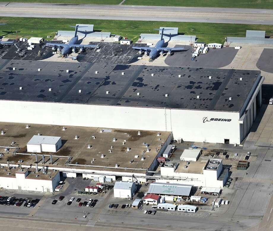 San Antonio is already home to a Boeing maintenance and repair operation. Photo: Bob Owen / San Antonio Express-News / © 2012 San Antonio Express-News