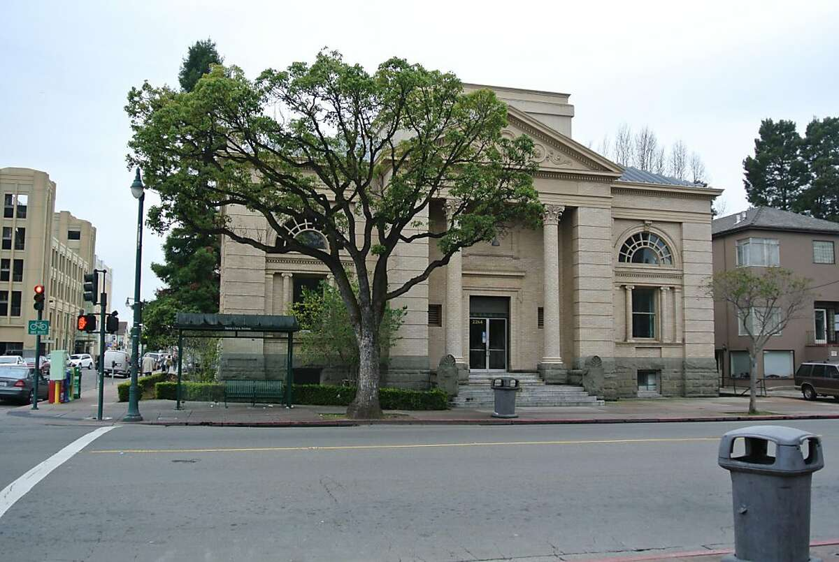 The outside of the Carnegie Library in Alameda. Pacific Pinball Museum leaders have started a $3.5 million fundraising campaign to make the Santa Clara Avenue museum their new home.