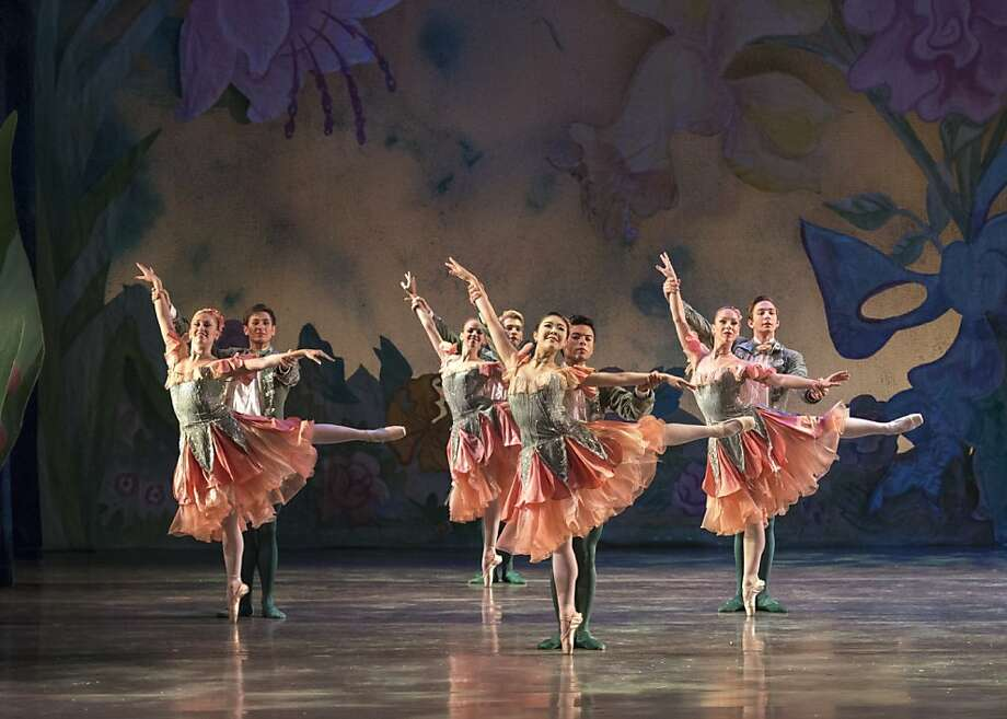 "Waltz of the Flowers in Ballet San Jose's ""Nutcracker."" Photo: Alejandro Gomez, Ballet San Jose"