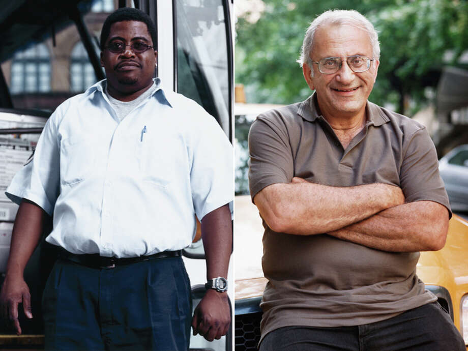 Bus driver – $36,180 Taxi Driver – $25,520 Photo: Getty Images Composite