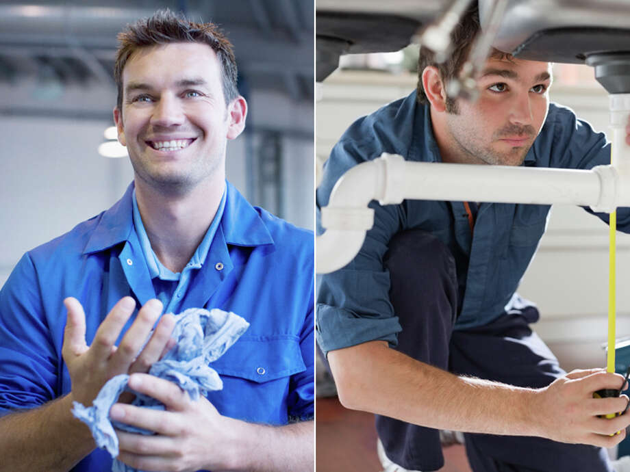 Car Mechanic – $36,590 Plumber – $51,200 Photo: Getty Images Composite