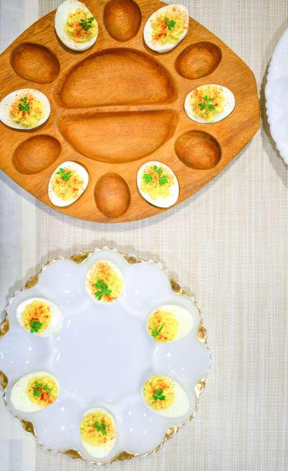 Canape: Ashley Christensen's Deviled Eggs Photo: Bonjwing Lee Photography