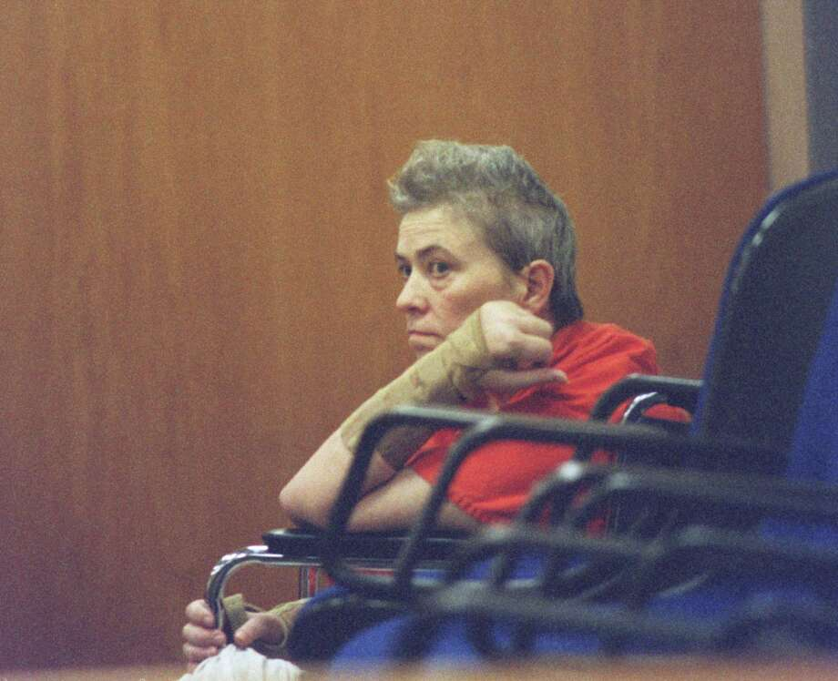 Suzanne Basso, prosecutors said, led a group that abducted, tortured and beat to death a mentally disabled man in 1998.  She faces execution. Photo: Carlos Antonio Rios, Staff / Houston Chronicle