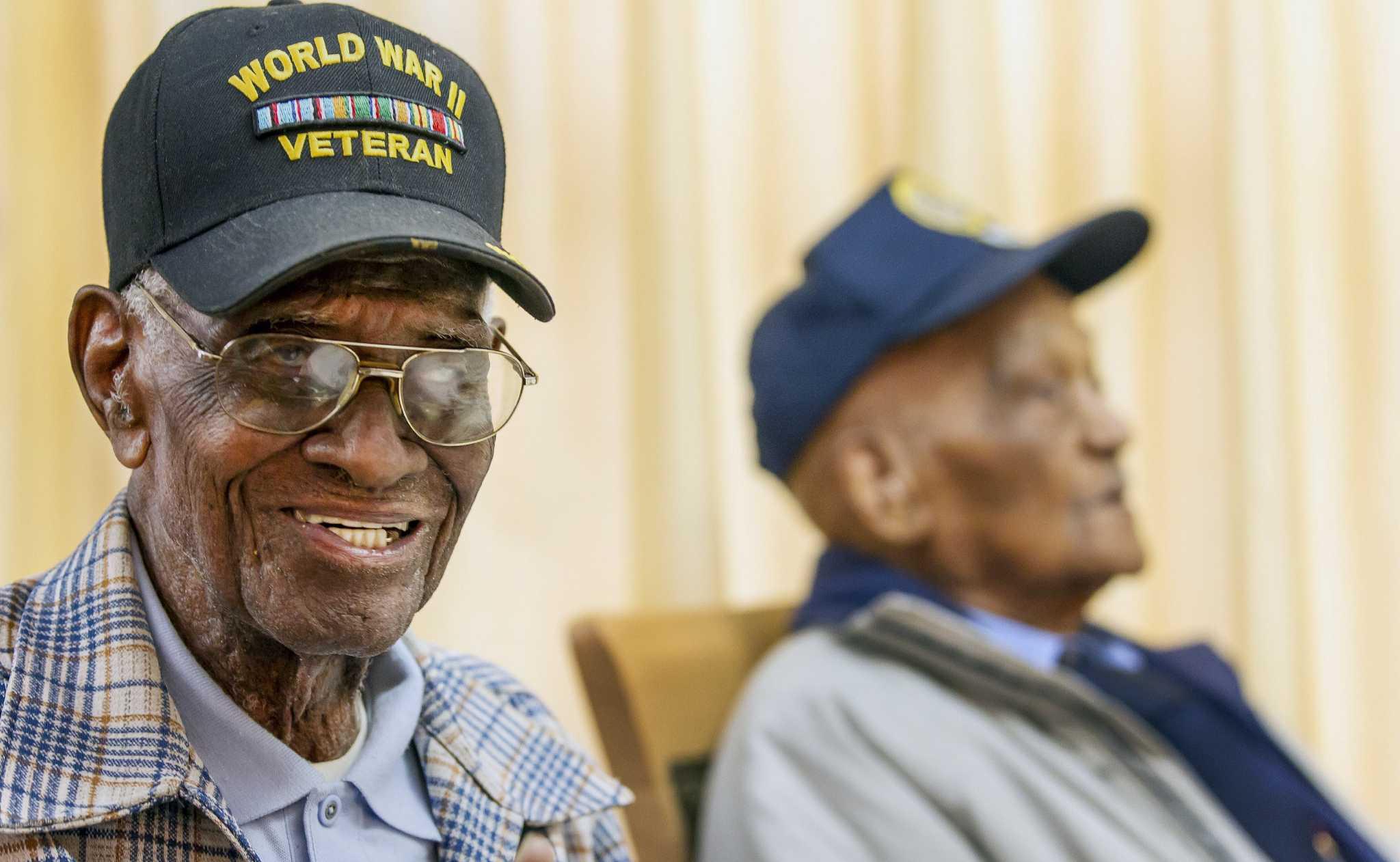 108 Year Old Veteran Former Pow Honored In Austin San