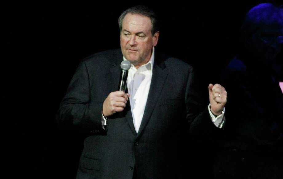 Former Arkansas Gov. Mike Huckabee won the 2008 Iowa caucuses before dropping out. Photo: Terry Wyatt / Getty Images / 2013 Getty Images
