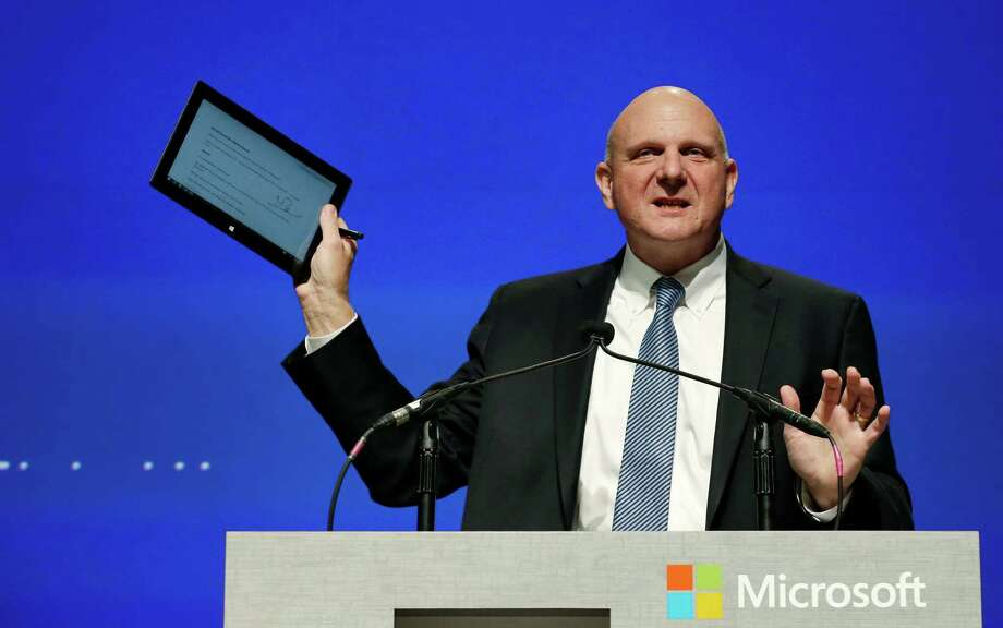Microsoft is seeking a replacement for Steve Ballmer as chief executive officer. Photo: Elaine Thompson, STF / AP
