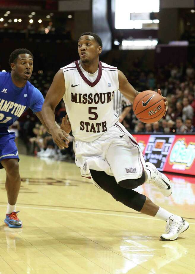Missouri State's Jarmar Gulley (No. 5) leads the Bears in scoring and rebounding this season. The former Central star and Beaumont native has fully recovered from a knee injury that forced him to miss the entire 2012-13 season.  Photo provided by Missouri State University Photo: Jesse Scheve