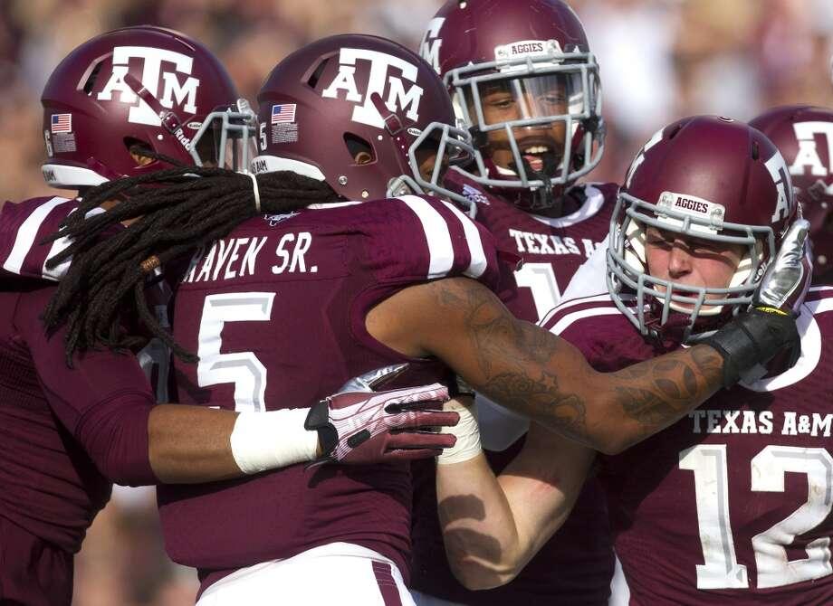 21. Texas A&M Photo: Cody Duty, Houston Chronicle