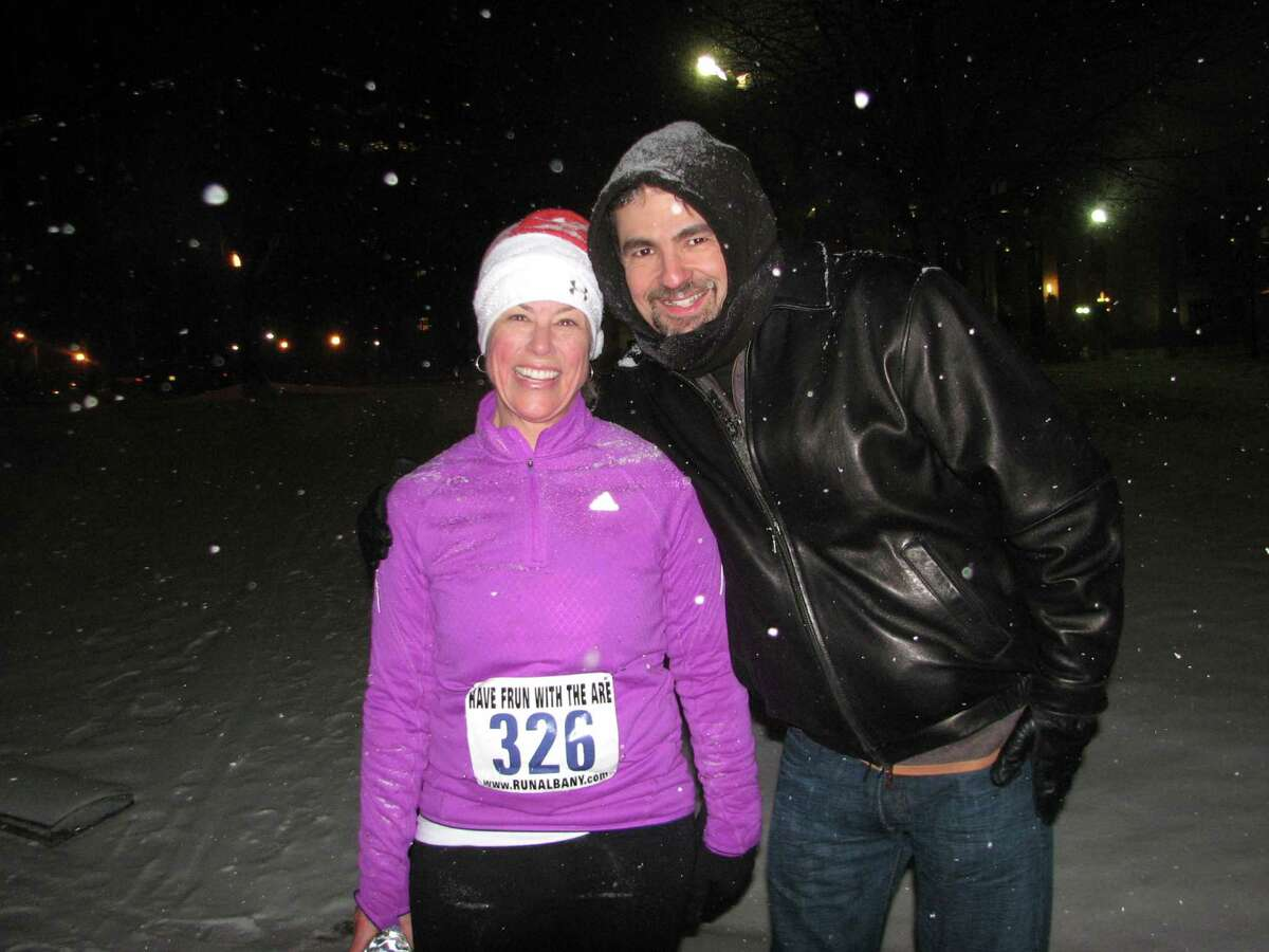 Were you Seen at the 17th Annual Last Run 5K through Capital Holiday Lights in Washington Park on Saturday, December 14, 2013?