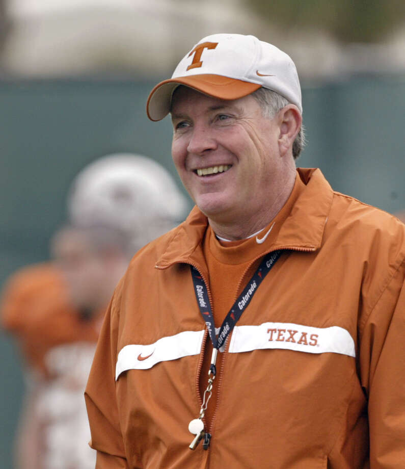 On Saturday, Dec. 14, 2013, UT head coach Mack Brown announced he was resigning after 16 years as head coach of the University of Texas Longhorns. Here is a look at his five most memorable wins and losses. Photo: NICK UT, Associated Press / AP