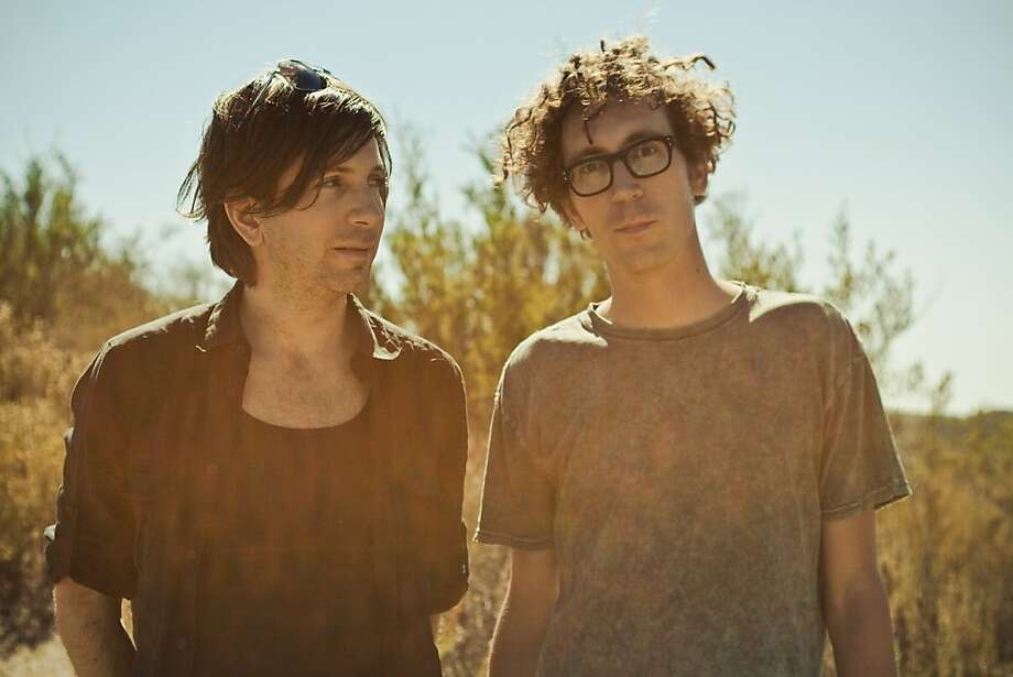 Poolside: Sunday, June 1 at 6 p.m.Mercury Stage Los Angeles natives Filip Nikolic and Jeffrey Paradise make a glitzy and sunshiny sort of dance pop. Photo: Unknown, Echo Park Records