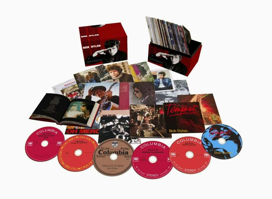 "Bob Dylan ""The Complete Album Collection, Volume 1"" (Legacy, $299.98) The good, the bad, ""Self Portrait."" It's all in this extensive collection that packs in 35 studio albums – 13 of them remastered -- and six live recordings, plus a two-disc set of miscellany called ""Side Tracks."" There's also a 268-page hardcover book to tell you what's what. Who needs that much Dylan? Who doesn't?"