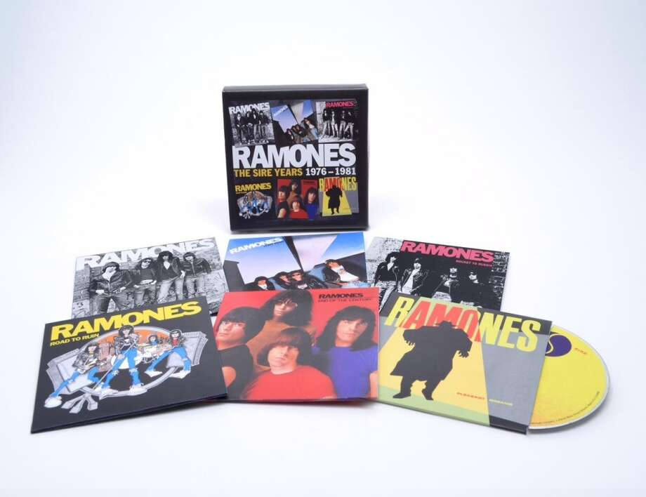 "Ramones ""The Sire Years 1976-1981"" (Rhino, $39.98) Just like the music it contains this box set covering the Ramones first six album contains no frills – just 79 tracks packed with primal riffs and grunts. Songs like ""Beat on the Brat"" and ""Sheena Is a Punk Rocker"" feel as familiar as nursery rhymes now but even the later, slightly more prudent releases (including 1980's Phil Spector-produced ""End of the Century"") offer gems worth rediscovering."