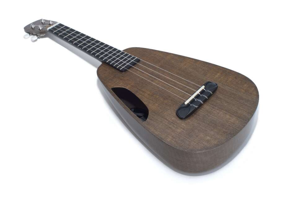 Clara Eco Ukulele by Blackbird Guitars ($1,150 and up. blackbirdguitar.com) Designed in San Francisco, it's a ukulele with a conscience. Clara is made of a renewable material developed by Blackbird Guitars called Ekoa that has the sound and feel of vintage wood. It's lightweight, travel friendly and built to last. It might be time to put together that Don Ho tribute act. Photo: PAUL JANOWSKI