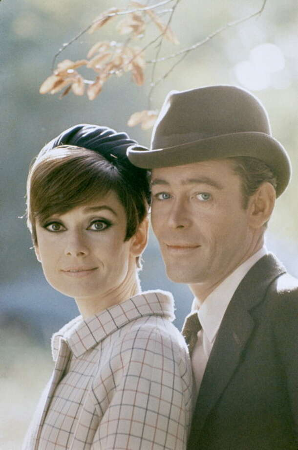 1966: British actress Audrey Hepburn and British actor and co-star Peter O'Toole on the set of  How to Steal A Million. Photo: Terry O'Neill, Getty Images / Terry O'Neill