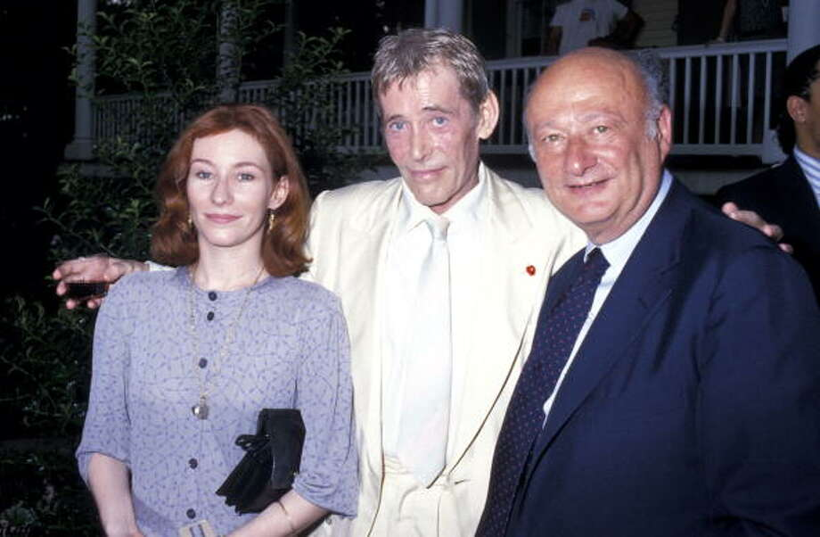 1987: Kate O'Toole, Peter O'Toole, and Ed Koch (Photo by Ron Galella/WireImage) Photo: Ron Galella, WireImage / ?2003 All Rights Reserved
