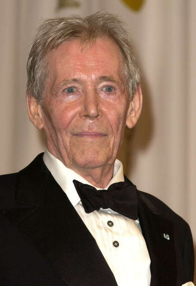 Honorary Oscar recipient Peter O'Toole during The 75th Annual Academy Awards - Press Room at The Kodak Theater in Hollywood, California, United States. (Photo by SGranitz/WireImage) Photo: SGranitz, WireImage / WireImage
