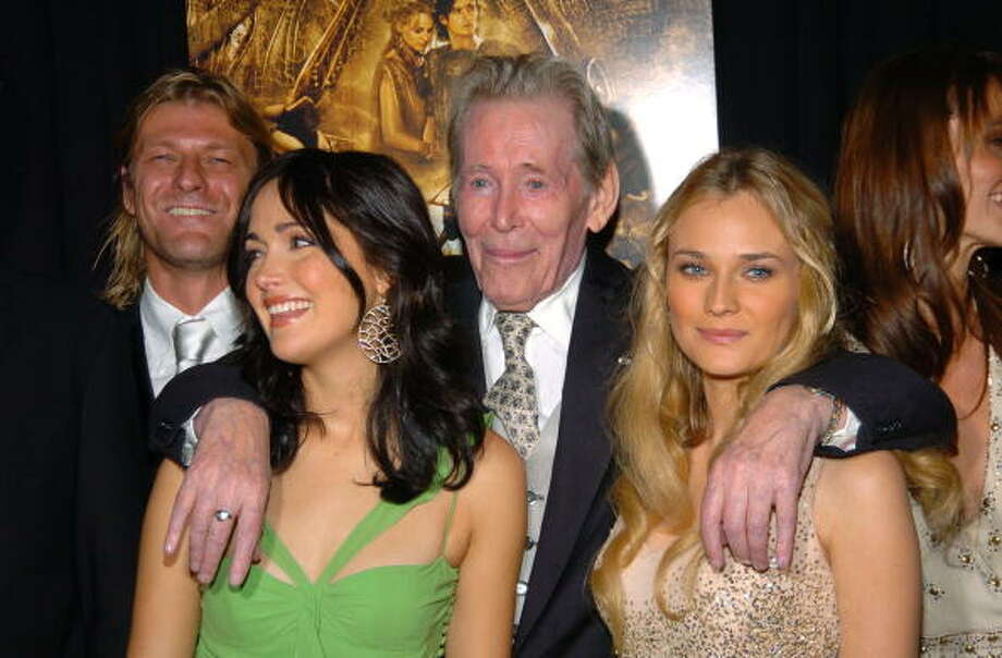 Sean Bean, Rose Byrne, Peter O'Toole and Diane Kruger (Photo by KMazur/WireImage) Photo: KMazur, WireImage / WireImage