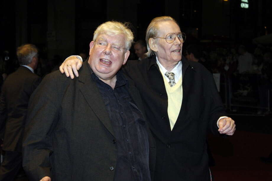 "Richard Griffiths and Peter O'Toole during The Times BFI London Film Festival - """"Venus"""" Gala Screening - Foyer at Odeon West End in London, Great Britain. (Photo by Nick Wall/WireImage) Photo: Nick Wall, WireImage / WireImage"