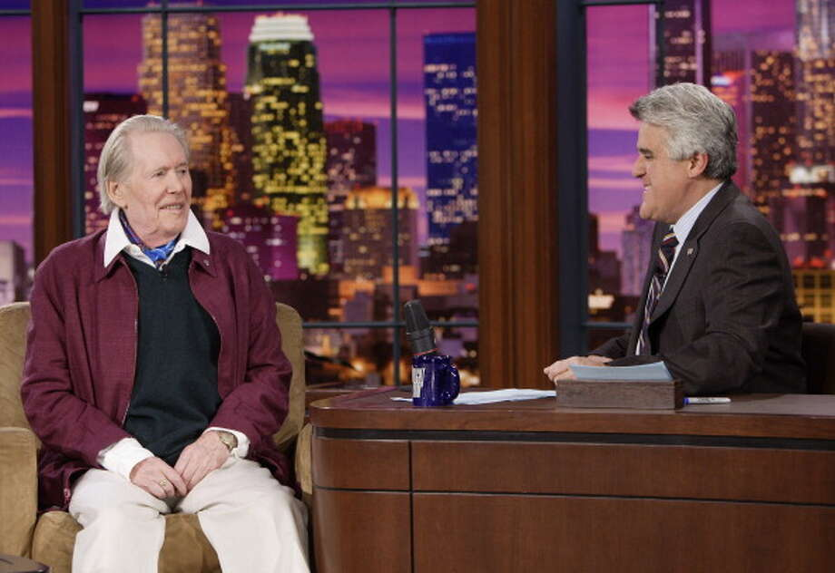 Actor Peter O'Toole during an interview with host Jay Leno on February 22, 2007 Photo: NBC, NBC Via Getty Images / 2012 NBCUniversal, Inc.