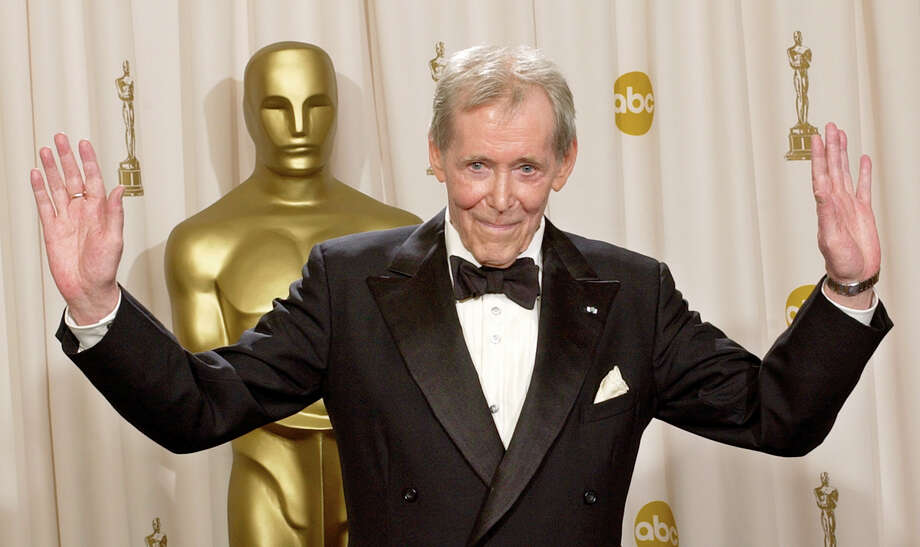 In this March 23, 2003 file photo, Peter O'Toole appears backstage without his Oscar after receiving the Academy Award's Honorary Award during the 75th annual Academy Awards in Los Angeles.  O'Toole, the charismatic actor who achieved instant stardom as Lawrence of Arabia and was nominated eight times for an Academy Award, has died. He was 81. O'Toole's agent Steve Kenis says the actor died Saturday, Dec. 14, 2013 at a hospital following a long illness. Photo: REED SAXON, AP / A2003