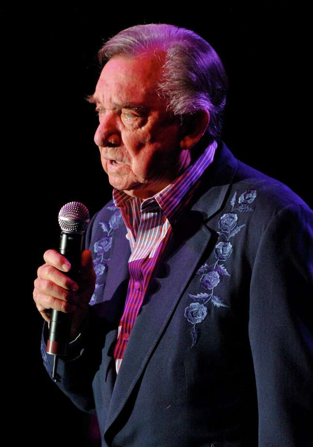 Ray Price, 1926-2013: The county-western swing legend's baritone voice took him to the Country Music Hall of Fame. He toured well into his 80s. Price died of pancreatic cancer on December 16. Photo: Tim Mosenfelder, File Photos / 2007 Tim Mosenfelder