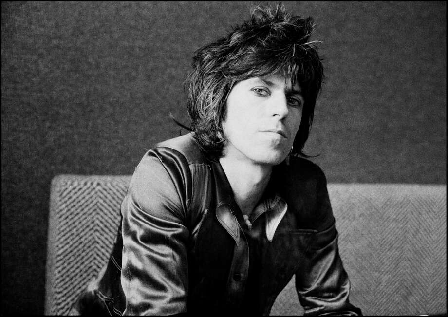 Guitarist Keith Richards of the Rolling Stones during an interview at Atlantic Records in London, England in August 1974. Photo: Michael Putland, Getty Images / 2011 Getty Images