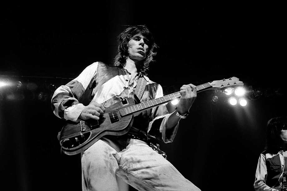 Keith Richards performing live onstage  (Photo by Robert Knight Archive/Redferns) Photo: Robert Knight Archive, Getty Images / Redferns