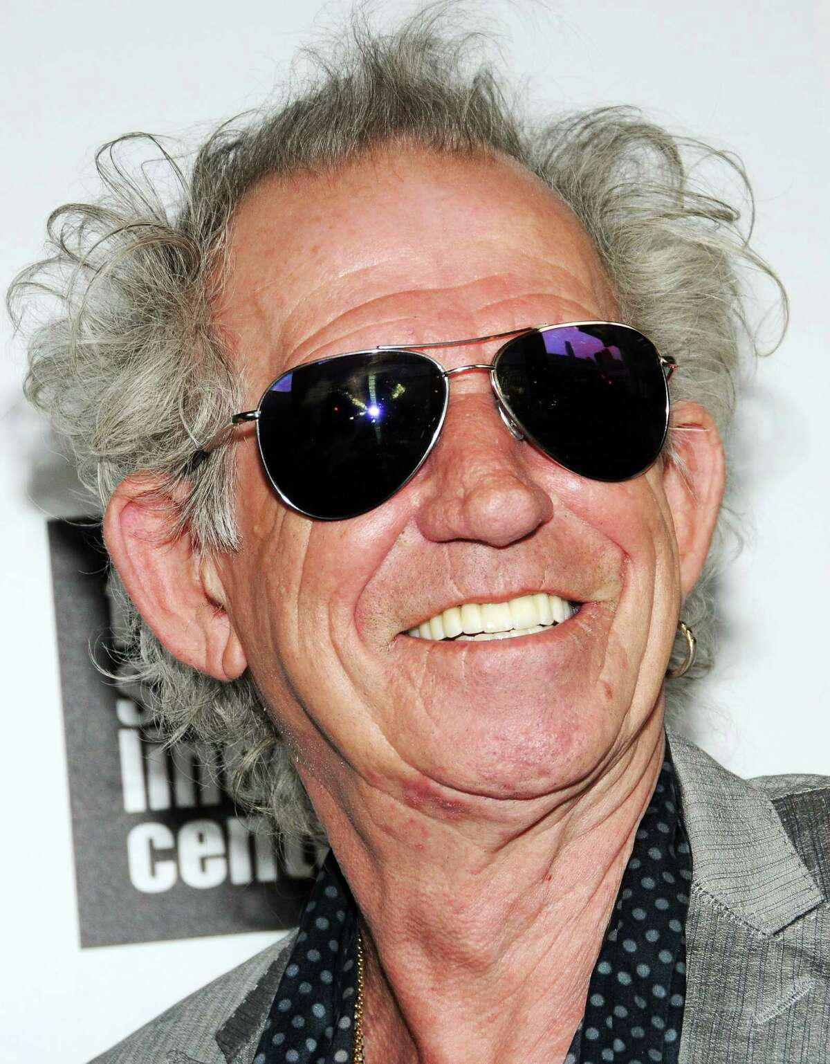 Musician Keith Richards attends The Film Society Of Lincoln Center And AMC Celebration Of