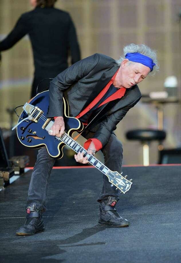 Keith Richards of The Rolling Stones performs live at Hyde Park on July 13, 2013 in London, England. Photo: Dave J Hogan, Getty Images / 2013 Getty Images