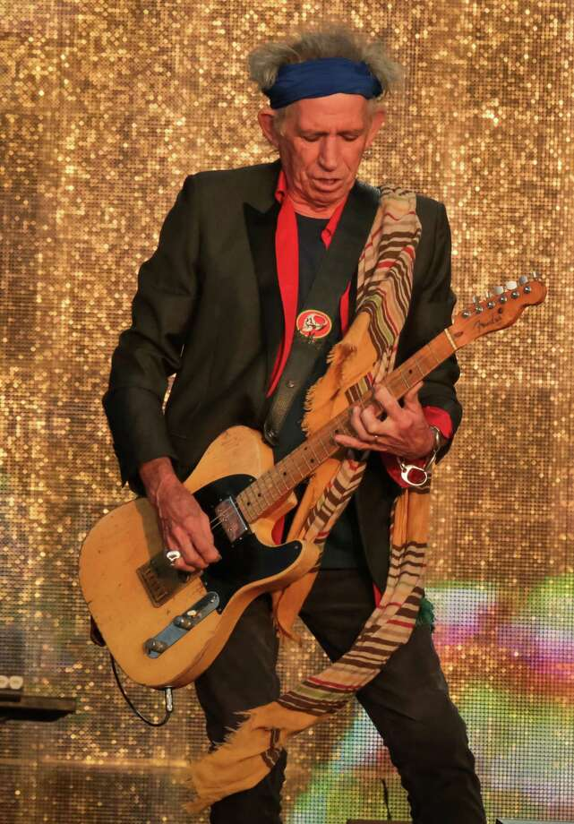 Keith Richards of The Rolling Stones performs on stage at British Summer Time Festival at Hyde Park on July 13, 2013 in London, England. Photo: Christie Goodwin, Getty Images / 2013 Christie Goodwin