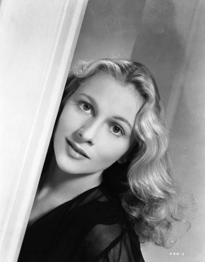 1944:  British-born actress Joan Fontaine, who won a Best Actress Oscar for her role as the frightened wife in Hitchcock's 'Suspicion'.  (Photo via John Kobal Foundation/Getty Images) Photo: John Kobal Foundation, Getty Images / Moviepix