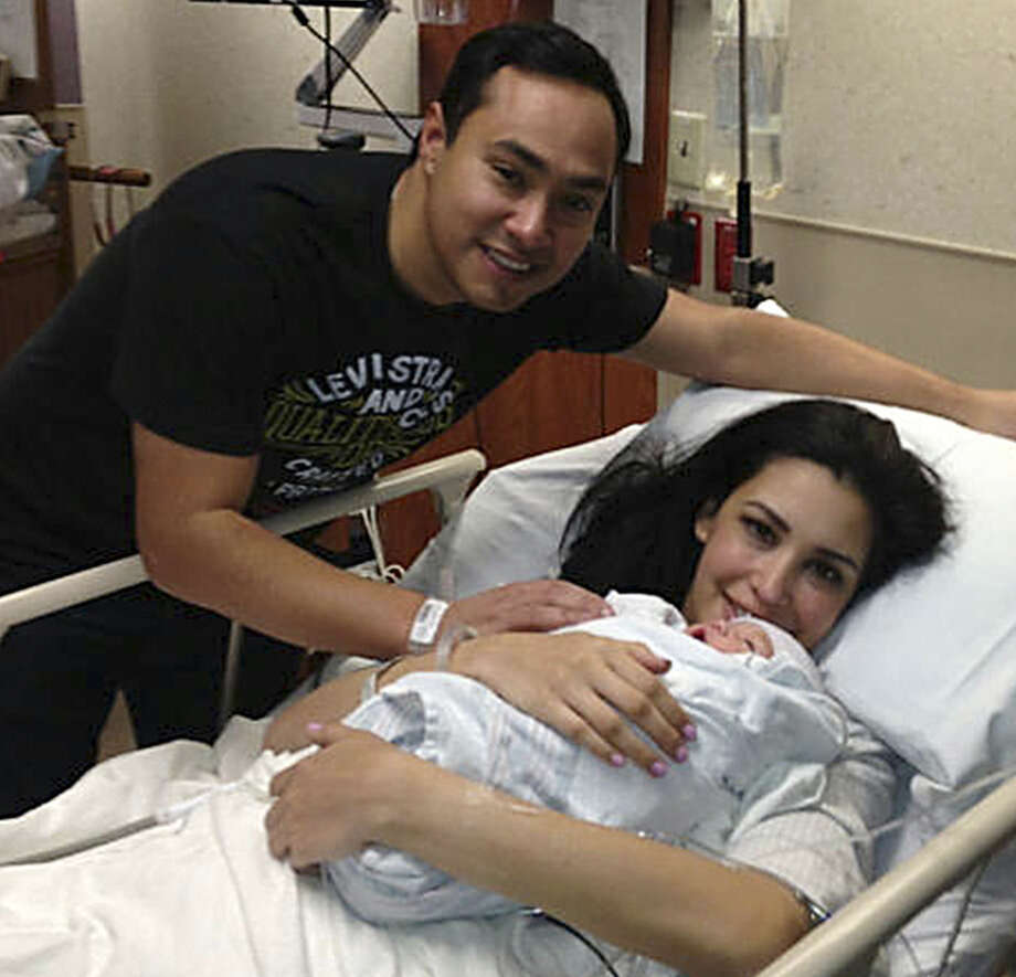 Congressman Joaquin Castro and his wife, Anna, are proud first time parents of a baby girl. Photo: Courtesy / Congressman Joaquin Castro