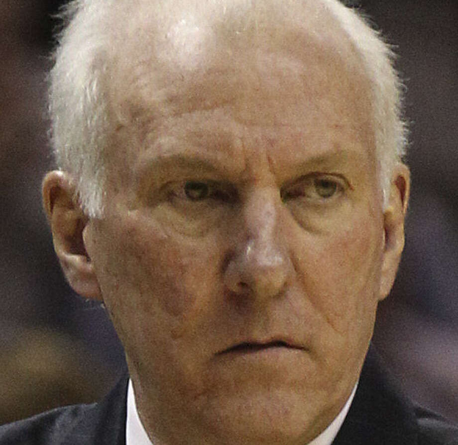 Popovich once considered a career with the Central Intelligence Agency. Photo: Kin Man Hui, San Antonio Express-News / ©2013 San Antonio Express-News