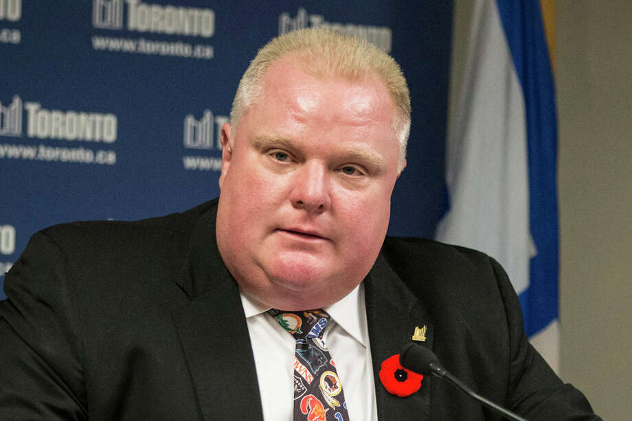 Toronto Mayor Rob Ford, remarks to reporters, Nov. 5, 2013PHOTO: 