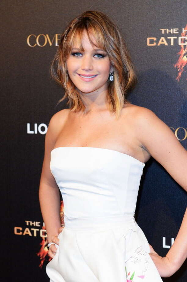 Jennifer Lawrence attends 'The Hunger Games: Catching Fire' Party during The 66th Annual Cannes Film Festival at Baoli Beach on May 18, 2013. Photo: Samir Hussein, Getty Images