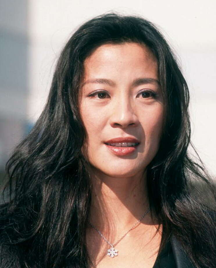 Michelle Yeoh  on December 3, 1997 at Hollywood Walk of Fame in Hollywood, California. Photo: Ron Galella, Ltd., WireImage / 1997 Ron Galella, Ltd.