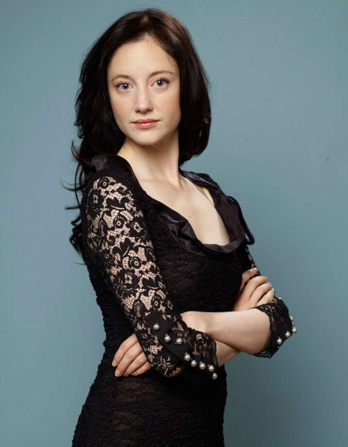 Andrea Riseborough  on September 12, 2011 in Toronto, Canada. Photo: Matt Carr, Getty Images