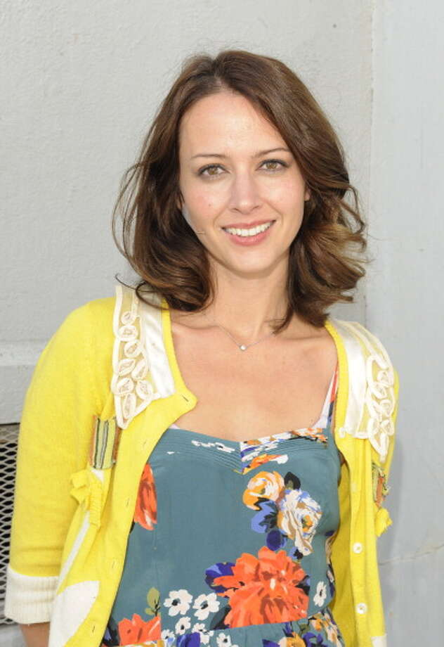 Amy Acker at The Broad Stage on November 5, 2011 in Santa Monica, California. Photo: Amy Graves, WireImage / 2011 WireImage