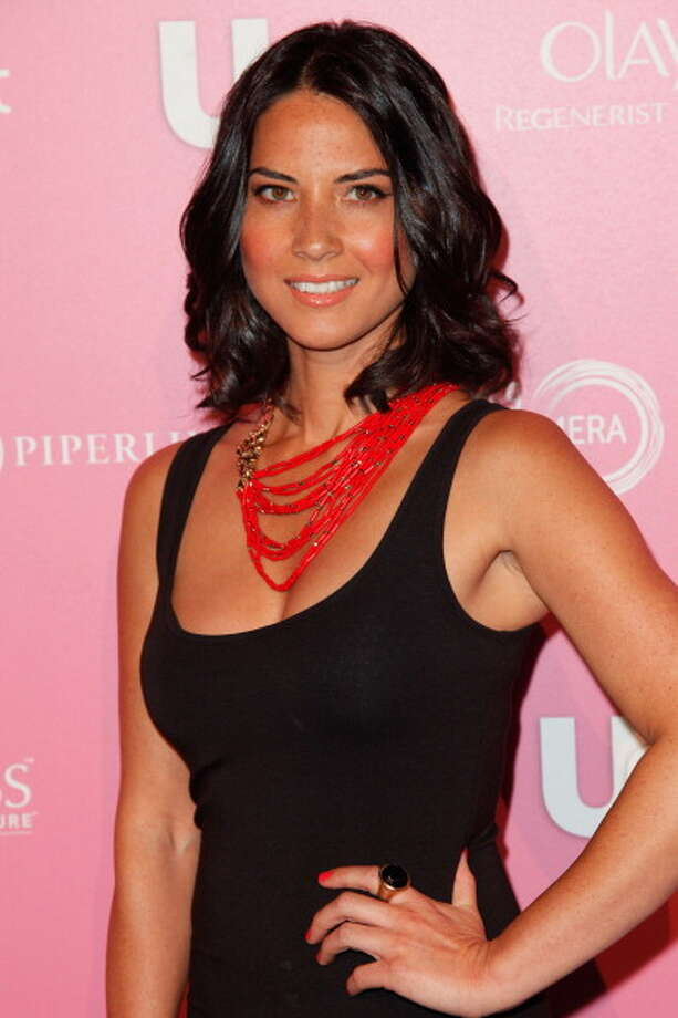 Olivia Munn on April 18, 2012 in West Hollywood, California. Photo: Imeh Akpanudosen, Getty Images / 2012 Getty Images