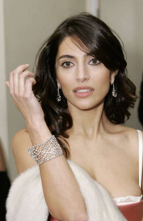 Caterina Murino on November 14, 2006 in London, England. Photo: Dave Hogan, Getty Images