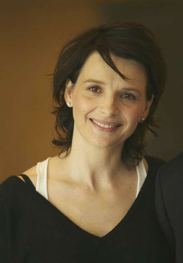 Juliette Binoche at age 43, photographed in April, 2007. Photo: Ralf Juergens, Getty Images